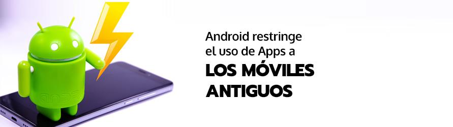 El logo del sistema operativo Android sobre un teléfono