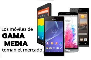 Imagenes de teléfonos móviles de gama media