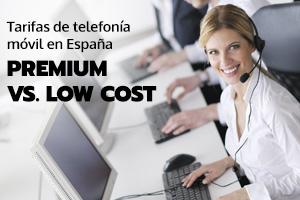 Operadoras de telefonía Premium contra Low Cost