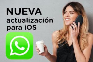 Con la nueva actualización de WhatsApp podrás escuchar varios audios seguidos