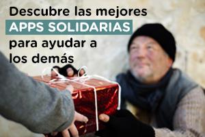 Descubre aplicaciones solidarias con las que ayudar a los demás en Navidad