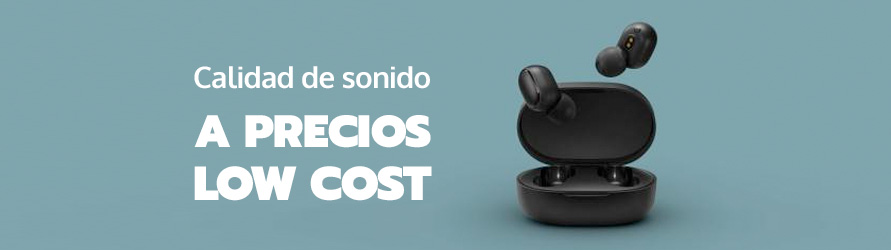 Auriculares inalámbricos in-ear con buena calidad de sonido a precios low cost