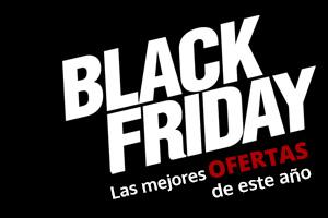 Cartel en el que pone black friday, las mejores ofertas