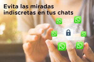 WhatsApp permite bloquear los chats con huella o contraseña