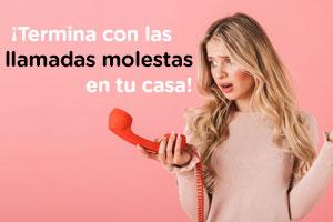 BLOQUEA TU FIJO DE LAS LLAMADAS MOLESTAS