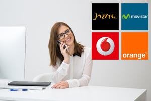 Comparativa de las ofertas combinadas de Jazztel, Vodafone, Movistar y Orange