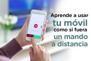 Guía para usar tu móvil como mando a distancia