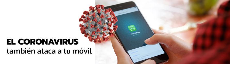 El coronavirus infecta tu teléfono con bulos