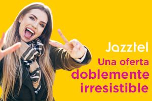 Descubre la doblemente irresistible de Jazztel con o sin permanencia