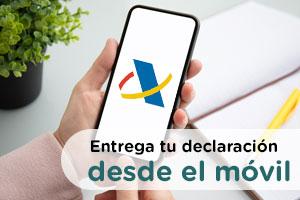 Todos los pasos a seguir para presentar la declaración de la renta desde el móvil