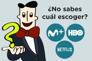 Todas las claves para escoger la mejor plataforma de streaming en España. Netflix, HBO o Movistar