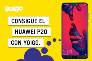 Consigue el Huawei P20 Pro con Yoigo desde solo 6€/mes