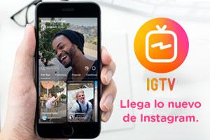 Instagram lanza Instagram TV, también conocido como IGTV