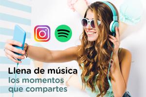 Instagram y Spotify se unen para que puedas añadir música a tus stories
