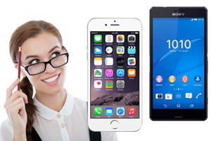 La gran rivalidad entre Iphone6 y el nuevo Sony Xperia Z3 Compact