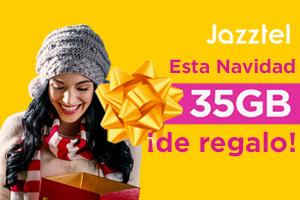 Descubre la promoción navideña de Jazztel, 35Gb extra de regalo