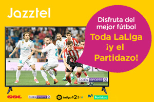 Todo el Fútbol con Jazztel por 7,5€/mes