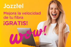 Jazztel mejora la velocidad de su fibra sin aumentos en los precios de las tarifas