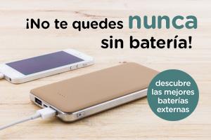 Descubre las mejores baterías externas para móviles
