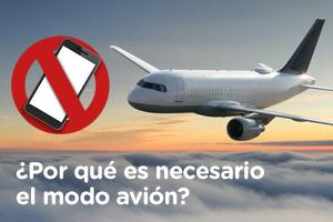 Descubre los mitos y verdades sobre el modo avión