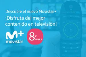 Descubre la nueva televisión de Movistar con el rediseño de Movistar+