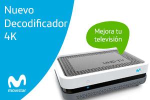 Descubre el nuevo decodificador 4K de Movistar