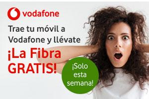 Descubre las ofertas de Vodafone con las que conseguir fibra gratis
