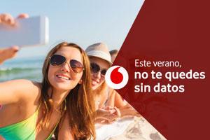 Este verano disfruta de 25Gb extra ¡gratis! con Vodafone