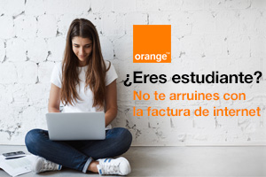Descubre Orange estudiantes, la fibra pensada especialmente para universitarios
