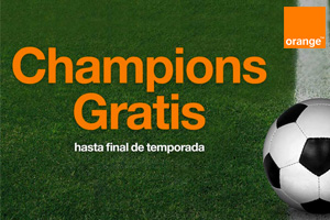 Consigue toda la Champions gratis con Orange hasta final de temporada