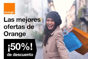 Las mejores ofertas de Orange con un 50% de descuento
