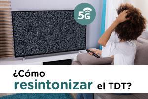 Descubre cómo resintonizar tu televisión con la llegada del 5G