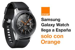 Descubre cómo conseguir el nuevo Samsung Galaxy Watch con Orange