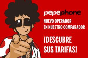 Descubre las tarifas de Pepephone que hemos incorporado en el comparador de ofertas Multioferta