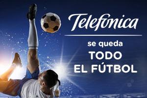 Telefónica se queda con La Liga y la champions