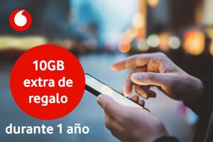 Consigue 10Gb extra gratis con Vodafone One durante un año