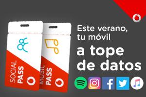 No te quedes sin datos en el móvil con Vodafone Pass