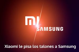 la marca Xiaomi le pisa los talones a Samsung en la venta de teléfonos