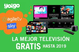 Yoigo lanza Agile TV y amplía su oferta de Sky gratis